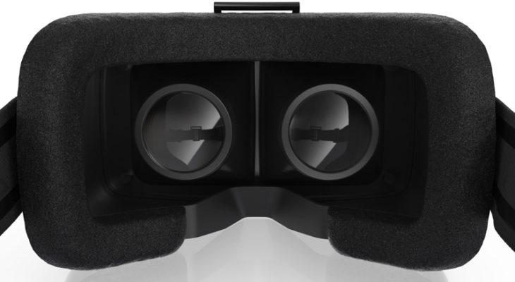 Очки виртуальной реальности изнутри