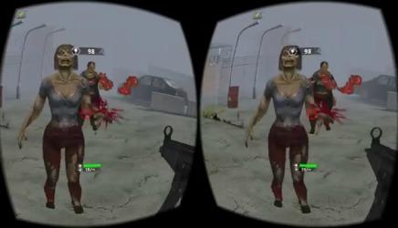 Игра про зомби для VR