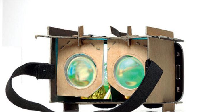 Самодельное VR устройство