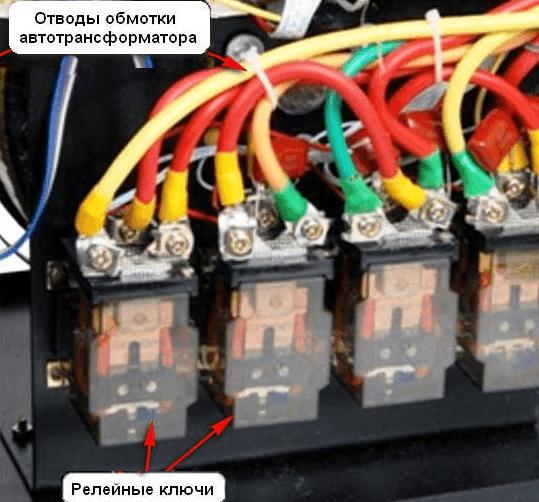 Электромагнитные реле и силовые ключи