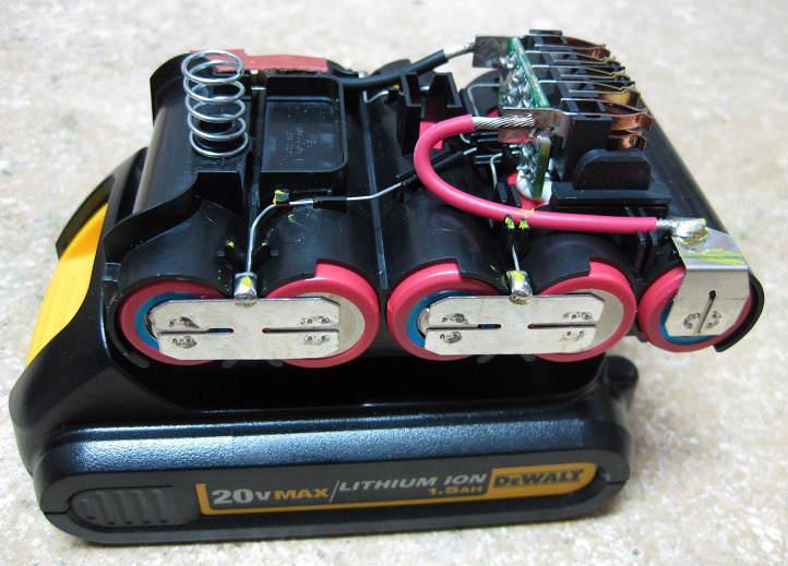 Элементы питания литийионного аккумулятора