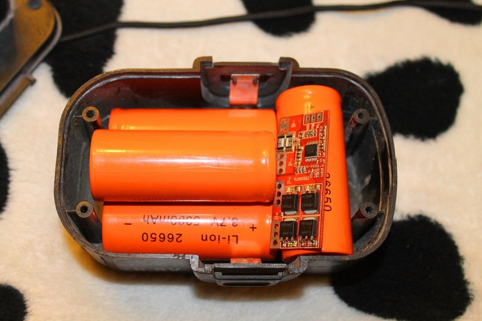 Ремонт литиевого аккумулятора для шуруповёрта своими руками 150