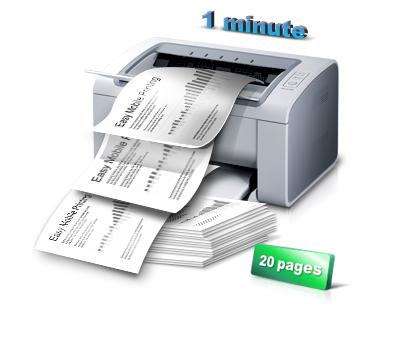Скорость печати