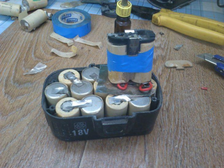 Сборка аккумулятора