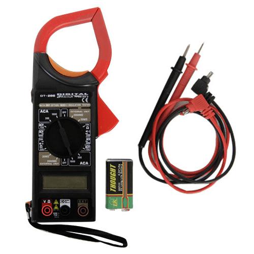 Цифровой мультиметр тестер-клещи DT-266FT