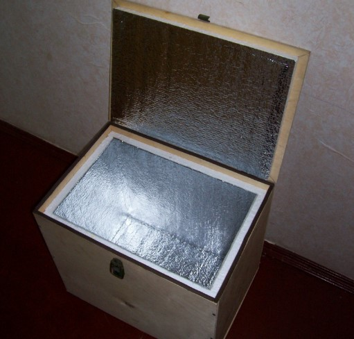 Сумка-холодильник из фанеры