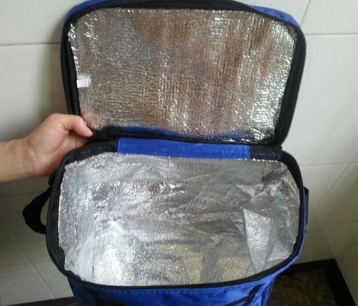 Сумка-холодильник из дорожной или спортивной сумки