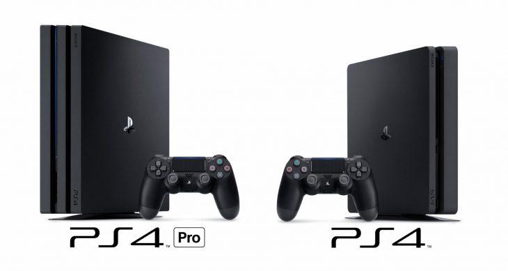 PS4 Pro и PS4