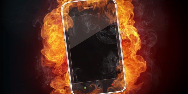 Раскалённый телефон