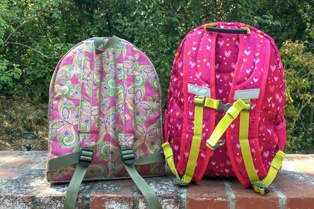 Грязные школьные рюкзаки