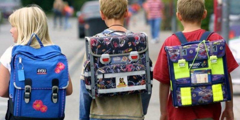 Как постирать школьный рюкзак