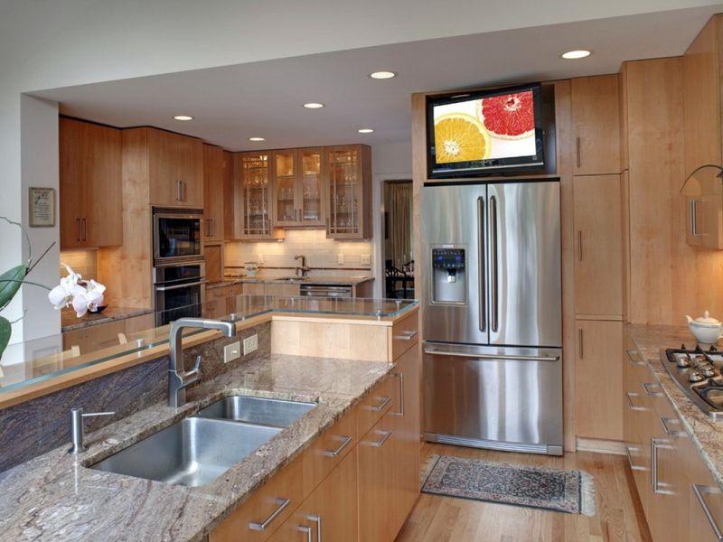 Что будет, если поставить телевизор на холодильник?