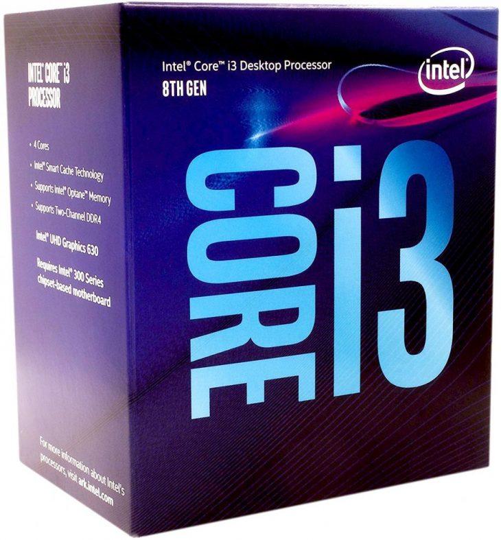 Core i3–8100