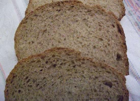 Готовый хлеб на закваске