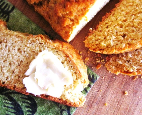 Бездрожжевой хлеб из мультиварки