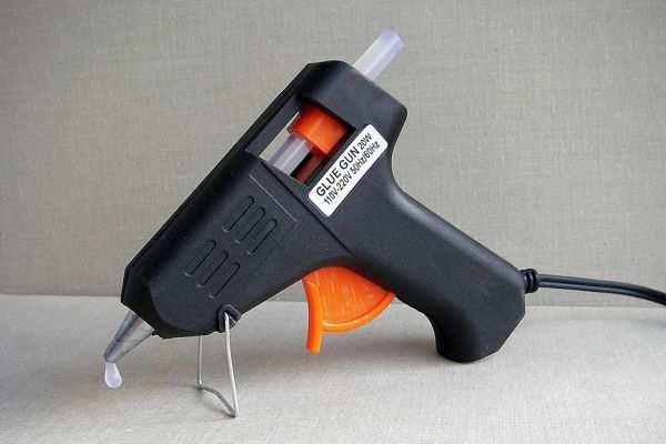 Установка пистолета на опору