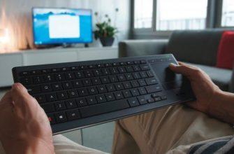 Smart TV с клавиатурой