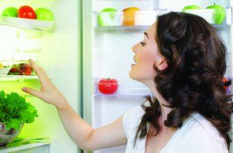 Проверка продуктов в холодильнике