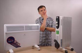 выбор между конвектором и радиатором