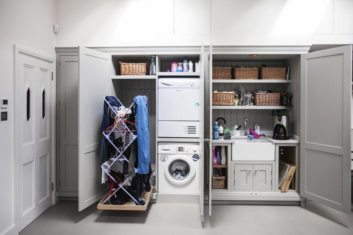 7 мест, куда можно спрятать стиральную машину в квартире