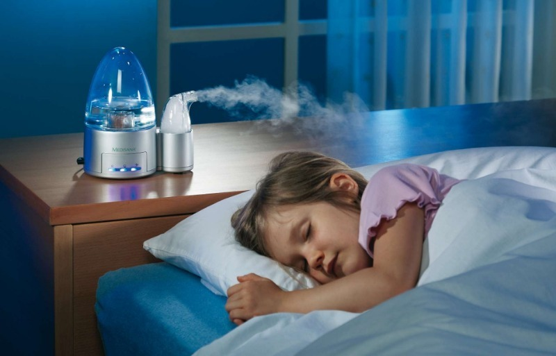 4 причины, чтобы купить в детскую увлажнитель воздуха