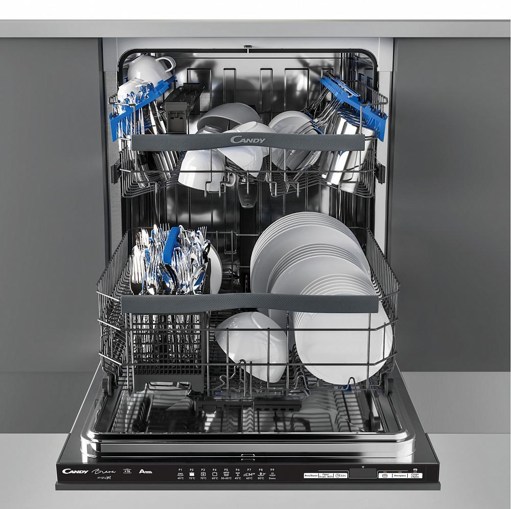 Лучшие полноразмерные встраиваемые посудомойки