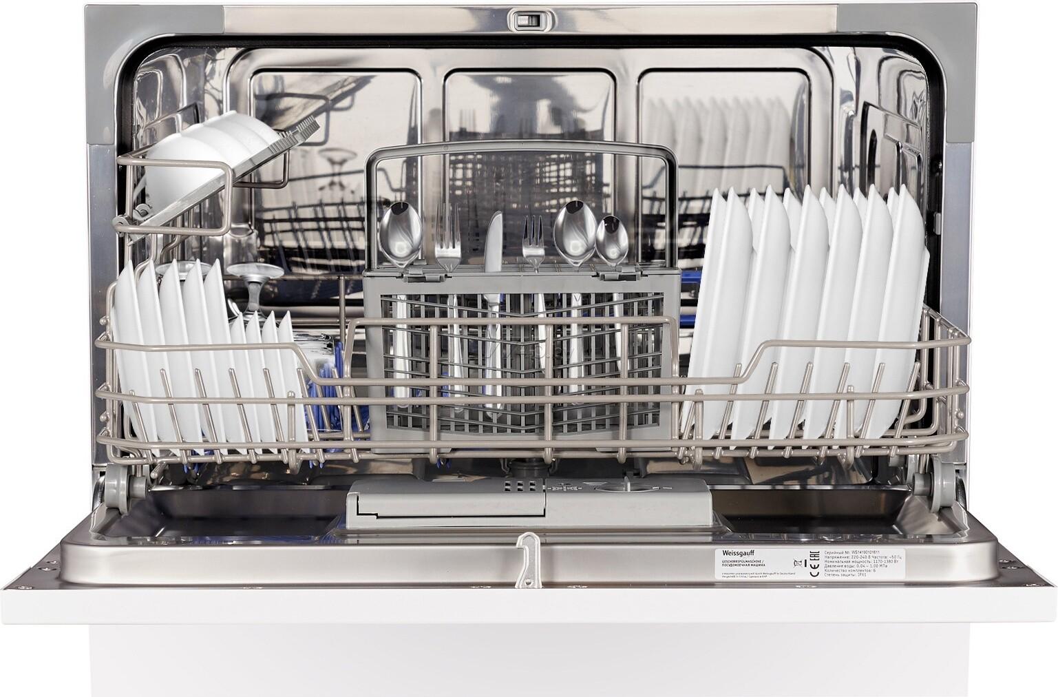 Лучшие компактные посудомоечные машины 2021