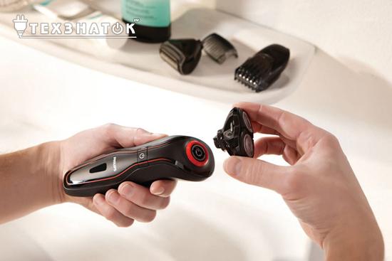 Как бриться электробритвой и правильно за ней ухаживать