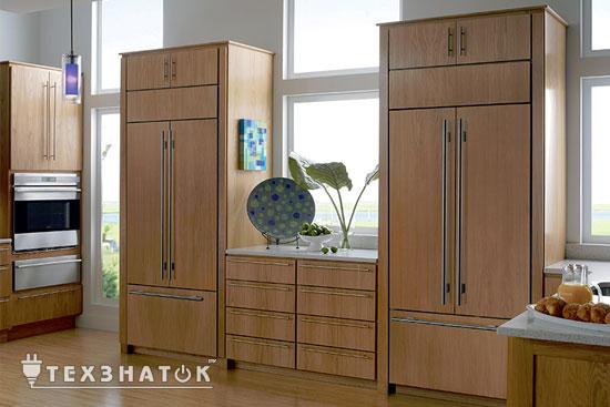 размеры холодильника стандартные ширина и глубина