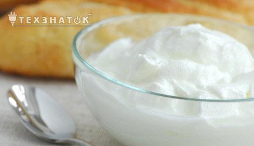 сливочный йогурт