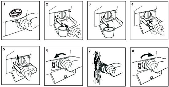 Картинки по запросу как почистить фильтр стиральной машины