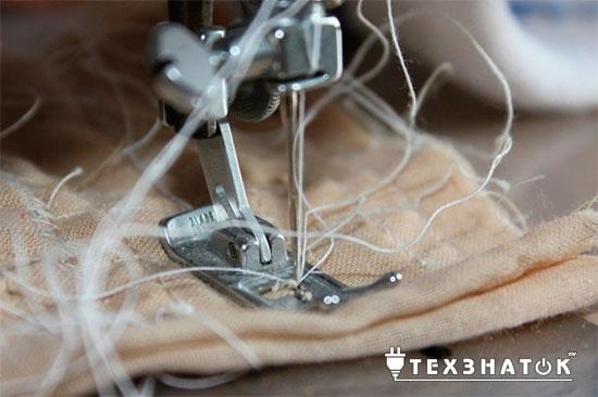 неисправность швейной машины